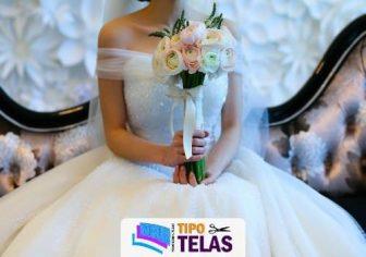 mejores telas para vestidos de novia