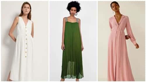 moda vestidos de verano