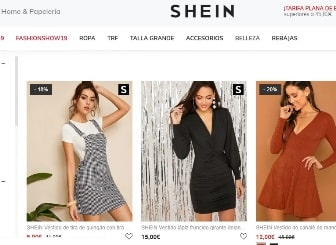 shein ropa online para chicas